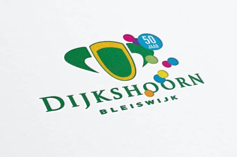 Dijkshoorn Bleiswijk 50 jaar logo