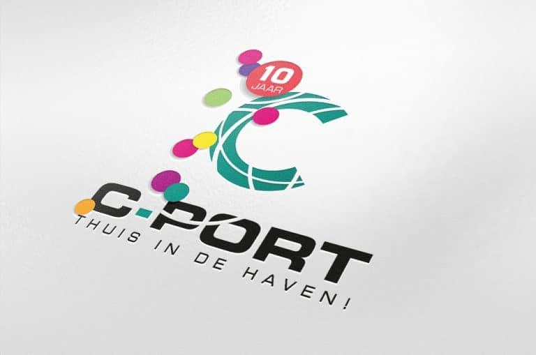 C-Port logo 10 jaar