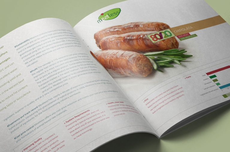 Meatless brochure