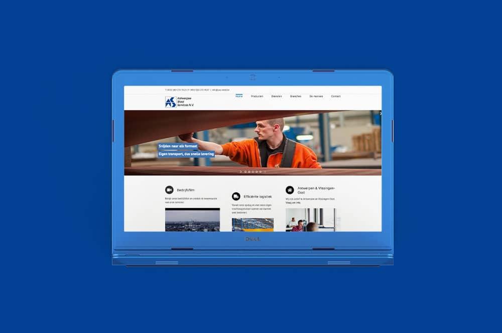 Website Antwerpse Staal Service