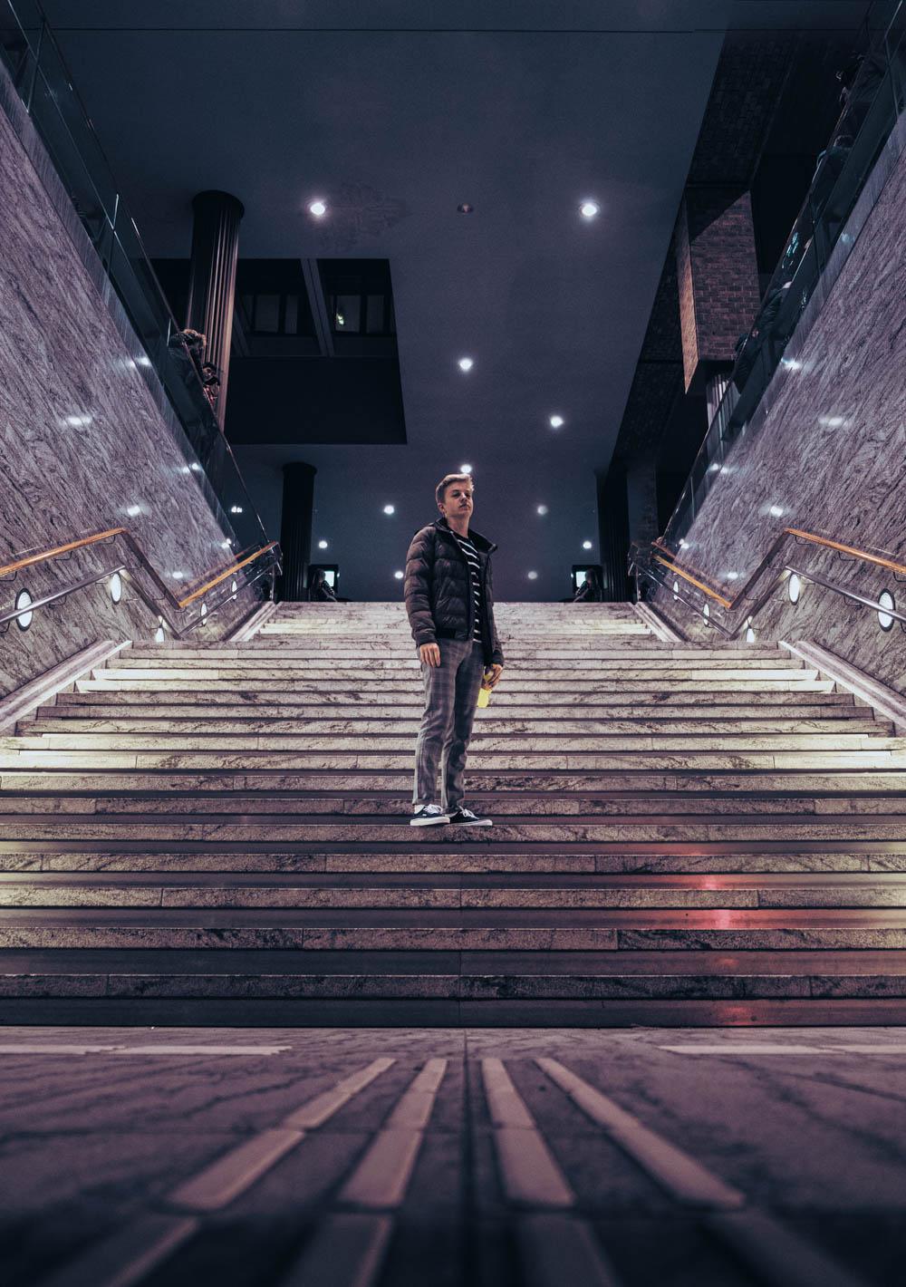 Marc in station Breda door Siem Wigman
