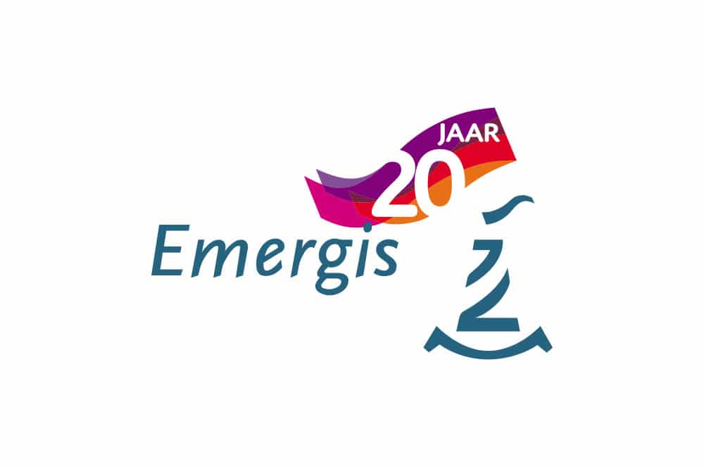 Logo Emergis 20 jaar