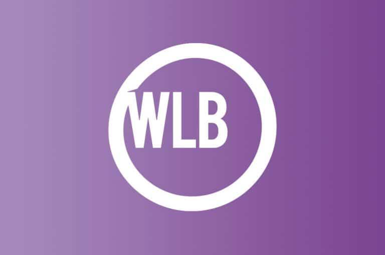 WLB logo paars