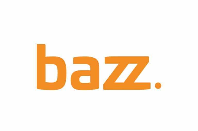 Bazz. logo oranje