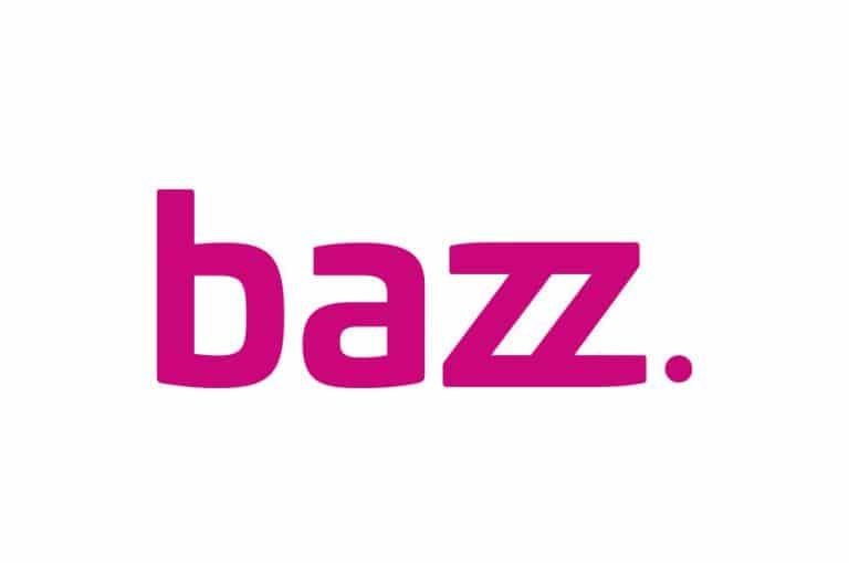 bazz. logo roze